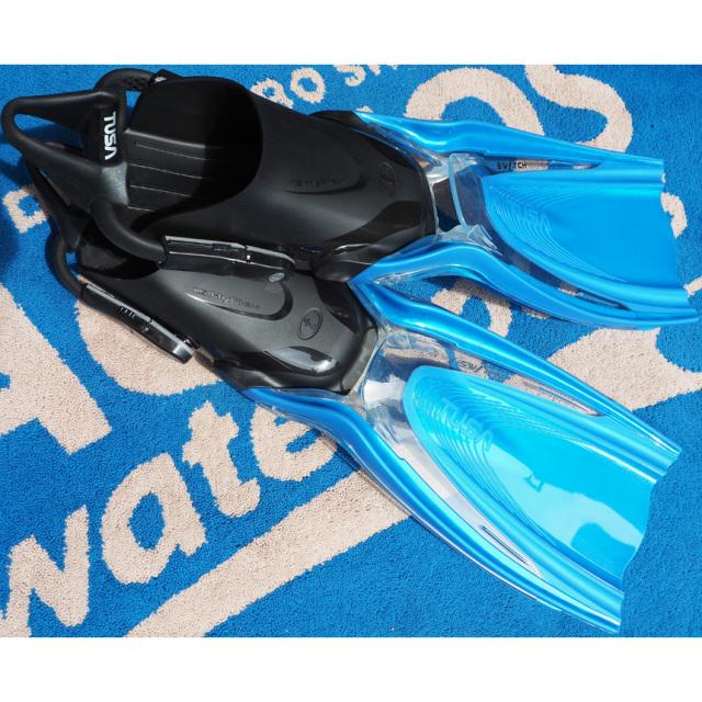 ダイビングフィン TUSA(ツサ)SF0104 HyFlex Switch ×ぐらんぶるモデル