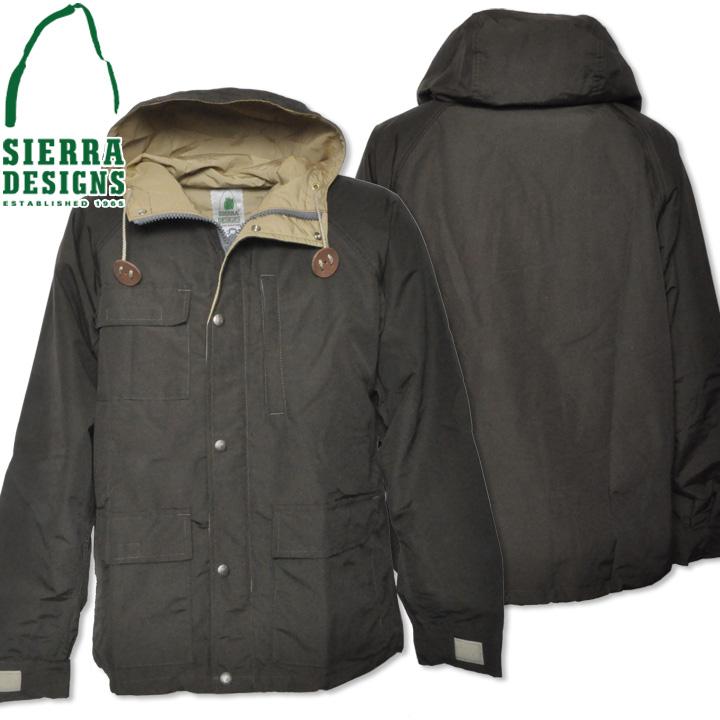 SIERRA DESIGNS (シエラデザインズ) SHORT PARKA ショートパーカー Olive Drab/V.tan 8001