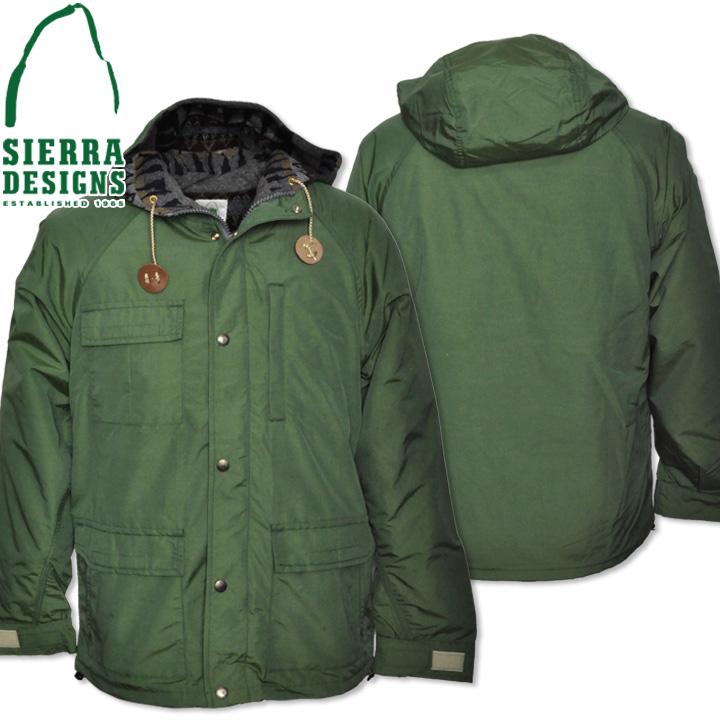 SIERRA DESIGNS (シエラデザインズ) PENDLETON LINED SHORT PARKA ペンドルトンラインドショートパーカー 7261 Green