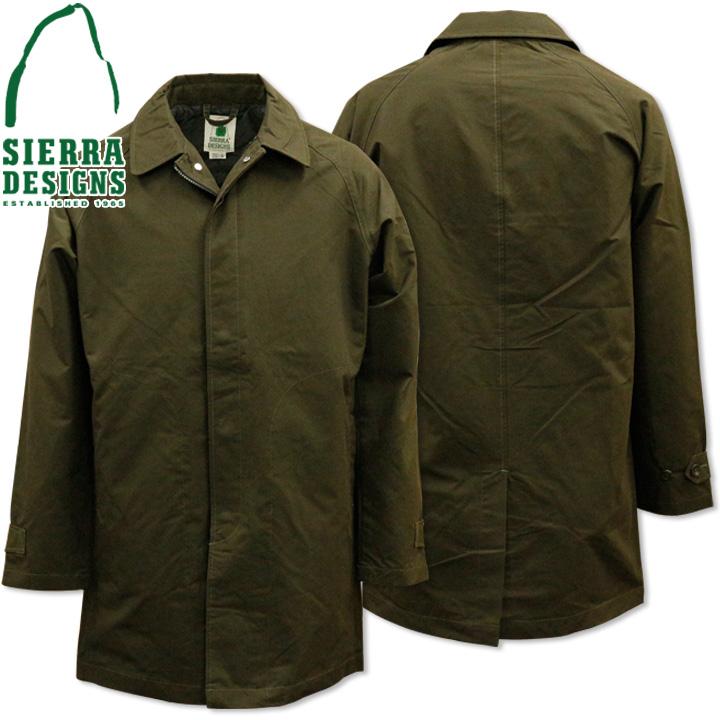 SIERRA DESIGNS (シエラデザインズ) TACOMA COAT 2 タコマコート 8101 Olive Drab