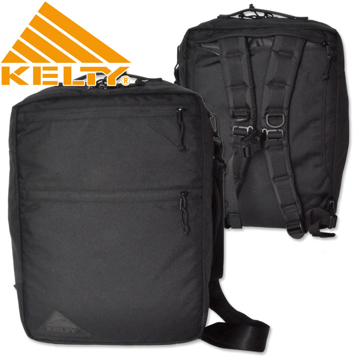 KELTY ( ケルティ ) URBAN SQUARE BRIEFCASE ALL BLACK