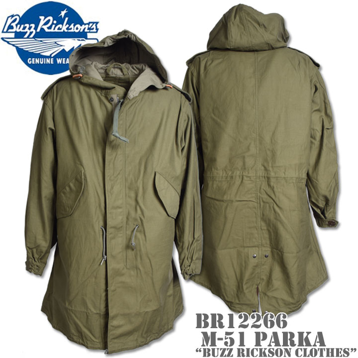 BUZZ RICKSON'S(バズリクソンズ)M-51 PARKA 『BUZZ RICKSON CLOTHES』BR12266