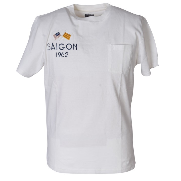 TAILOR TOYO(テーラー東洋)スカTシャツ SUKA T-SHIRT『SAIGON』TT77922-101 White