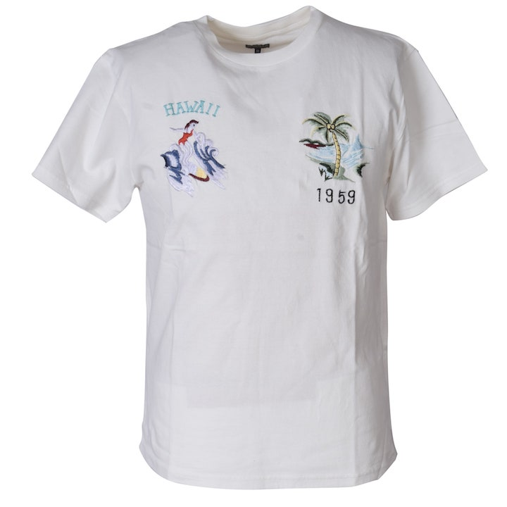 TAILOR TOYO(テーラー東洋)スカTシャツ SUKA T-SHIRT『HAWAII』TT77923-101 White