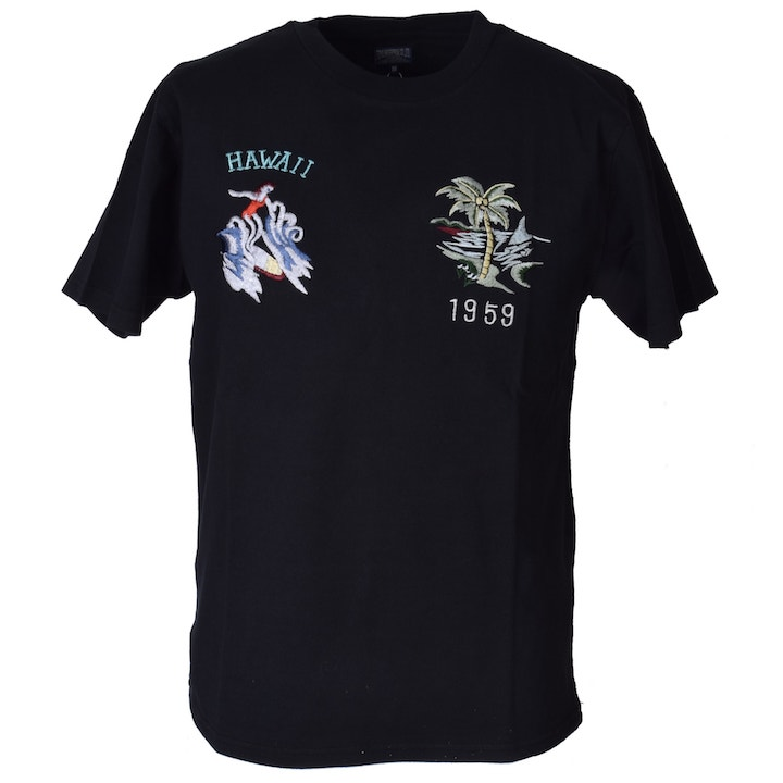 TAILOR TOYO(テーラー東洋)スカTシャツ SUKA T-SHIRT『HAWAII』TT77923-119 Black