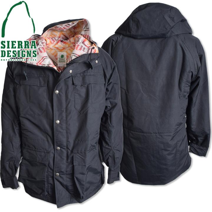 SIERRA DESIGNS (シエラデザインズ) PENDLETON T&E MOUNTAIN PARKA ペンドルトンT&Eマウンテンパーカー 7924 Black