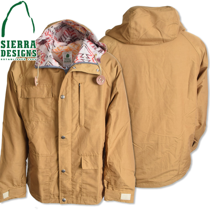 SIERRA DESIGNS (シエラデザインズ) PENDLETON T&E SHORT PARKA ペンドルトンT&Eショートパーカー 7262 Tan