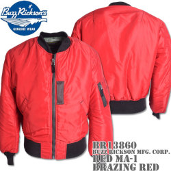 BUZZ RICKSON'S(バズリクソンズ)Type RED MA-1『BUZZ RICKSON MFG. CORP.』BR13860