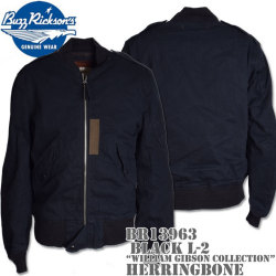 BUZZ RICKSON'S(バズリクソンズ)BLACK L-2 HERRINGBONE『WILLIAM GIBSON COLLECTION』BR13963
