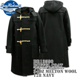 BUZZ RICKSON'S(バズリクソンズ)Duffel Coat(ダッフルコート)34oz Melton Wool『Aviation Associates』BR13590-128 Navy