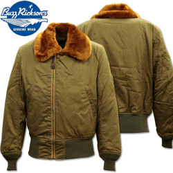 BUZZ RICKSON'S ( バズリクソンズ ) フライトジャケット B-15 『 ROUGH WEAR CLOTHING CO. 』 BR14390