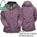SIERRA DESIGNS (シエラデザインズ) Mountain Parka マウンテン・パーカー Purple/Black