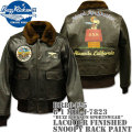 BUZZ RICKSON'S(バズリクソンズ)G-1 MIL-J-7823『BUZZ RICKSON SPORTSWEAR』LACQUER FINISHED SNOOPY BACK PAINT BR80426