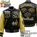 WHITES VILLE ( ホワイツビル ) AWARD JACKET FULL DECORATION ( スタジアムジャンパー ) 『 MICHIGAN Football 』 WV13365-128 Navy