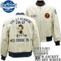 BUZZ RICKSON'S(バズリクソンズ)スヌーピーコラボ BR×PEANUTS『SNOOPY TOUR JACKET』BR13481-105 Off White