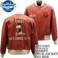 BUZZ RICKSON'S(バズリクソンズ)スヌーピーコラボ BR×PEANUTS『SNOOPY TOUR JACKET』BR13481-165 Red