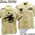 テーラー東洋(TAILOR TOYO)SUKA SHIRT『EAGLE』TT37330-105 Off White