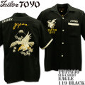 テーラー東洋(TAILOR TOYO)SUKA SHIRT『EAGLE』TT37330-119 Black