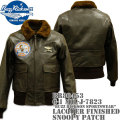 BUZZ RICKSON'S ( バズリクソンズ ) G-1 MIL-J-7823 『 BUZZ RICKSON SPORTSWEAR 』 LACQUER FINISHED SNOOPY PATCH BR80453