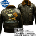 BUZZ RICKSON'S(バズリクソンズ)G-1 MIL-J-7823『BUZZ RICKSON SPORTSWEAR』LACQUER FINISHED SNOOPY BACK PAINT BR80454