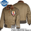 BUZZ RICKSON'S(バズリクソンズ)フライトジャケット B-10『ROUGH WEAR CLOTHING CO.』23rd Fighter Group BR13614