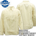 BUZZ RICKSON'S ( バズリクソンズ ) WHITE CHAMBRAY L/S WORK SHIRT ( シャンブレーワークシャツ ) BR25996-105 Off White