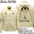 テーラー東洋(TAILOR TOYO)ベトナムジャケット COTTON VIETNAM JACKET『PARACHIUTE』TT13977-105 Off White