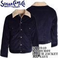 Sugar Cane ( シュガーケーン ) CORDUROY RANCH JACKET SC13940-128 Navy