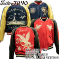 TAILOR TOYO(テーラー東洋)SOUVENIR JACKET(スカジャン)『WHITE EAGLE × U.S.S.PRINCETON』TT14331-165 Red/Navy