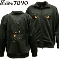 TAILOR TOYO ( テーラー東洋 ) スカジャージ SUKA ZIP UP JERSEY 『 JAPAN TIGER 』 TT68241-119 Black/Black