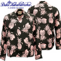 Duke Kahanamoku ( デューク カハナモク ) アロハシャツ 『 SPECIAL EDITION DUKE'S PINEAPPLE L/Sleeve 』 DK26793-219 Black