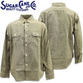Sugar Cane ( シュガーケーン ) PIN CHECK L/S WORK SHIRT SC28094-119 Black