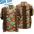 SUN SURF(サンサーフ)アロハシャツ HAWAIIAN SHIRT『HAWAIIAN IVE』SS38311-119 Black