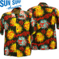 SUN SURF(サンサーフ)アロハシャツ HAWAIIAN SHIRT『KEONI OF HAWAII/GOUGUIN WOOD CUT by JOHN MEIGS』 SS38466-119 Black