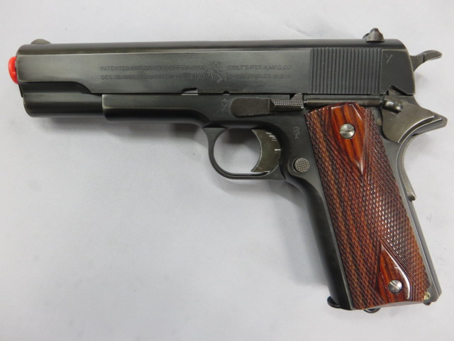 M1911 ブリティッシュサービスピストトル/リアルスチール