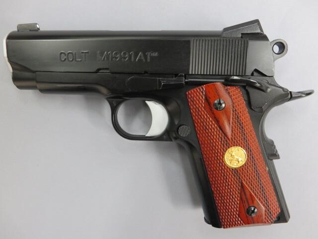 コルト M1991A1コンパクト ノバックサイトカスタム