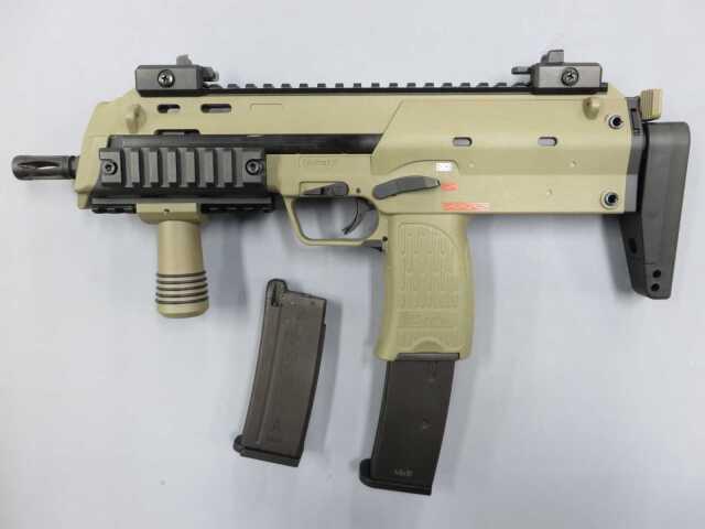 【KSC】MP7A1 タクティカル TAN / ショートマガジン・フォアグリップ