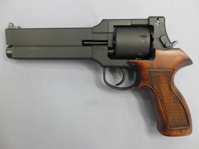 攻殻機動隊 トグサの銃 MATEBA M-M2007 8mmBB 木製グリップ