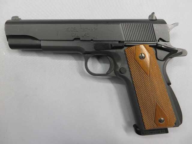 【ウエスタンアームズ】ミルスペック M1911A1 Cal.45 HW