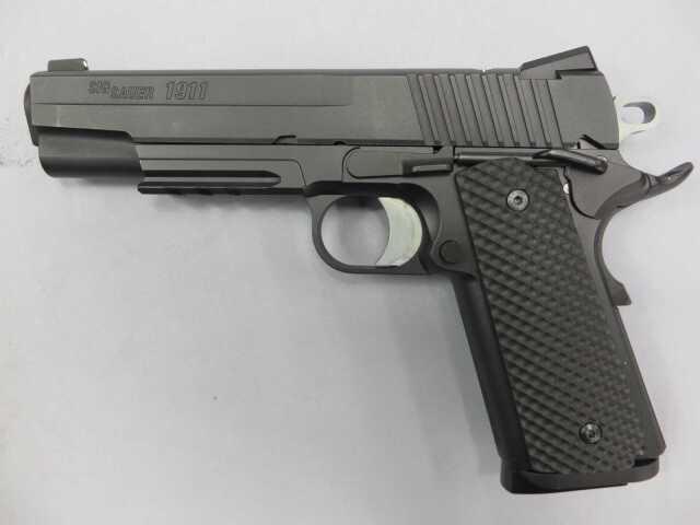 【ウエスタンアームズ】SIG ARMS GSR 1911 ブラックウォーター