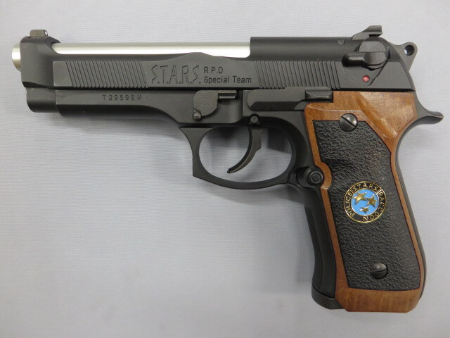 サムライエッジ M92F/S.T.A.R.S.カスタム ジルバレンタイン モデル