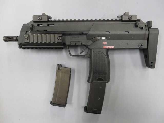 【KSC】MP7A1 タクティカル BK / ショートマガジン・レイルカバー2本