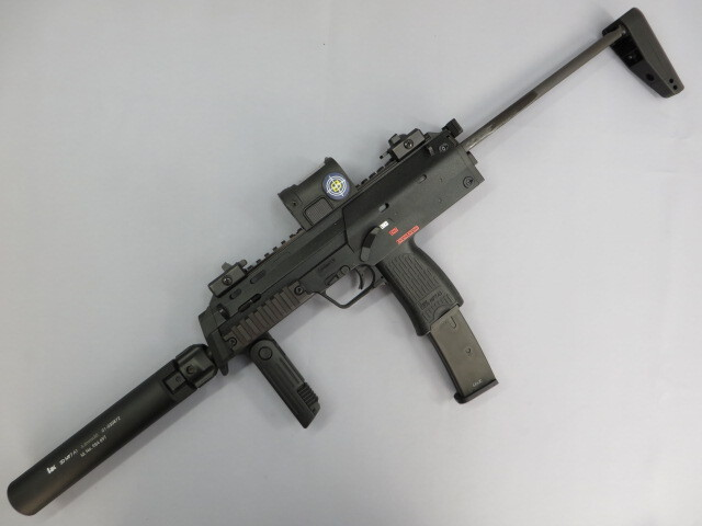 【KSC】 MP7A1 GBB・QD S-Point Red Dot Sight・QDサイレンサー