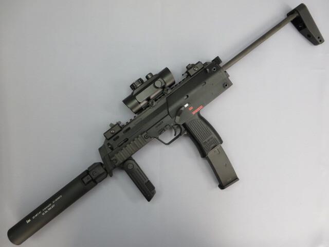 【KSC】 MP7A1 GBB・ダットサイト・QDサイレンサー