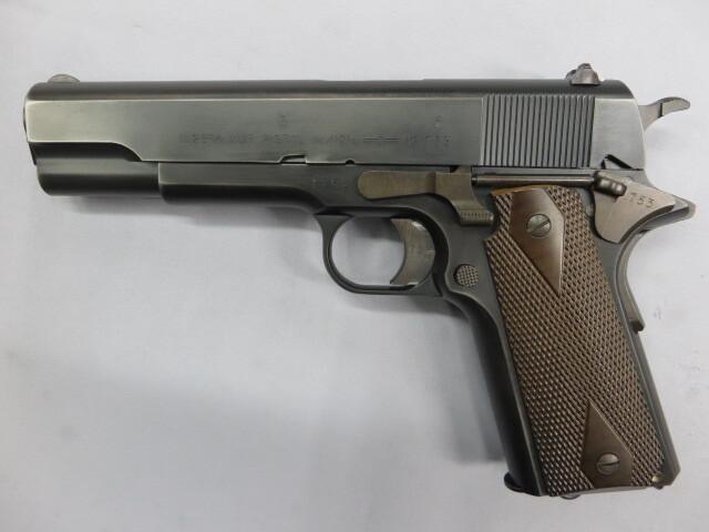 コングスベルグM1914 リアルスチールフィニッシュ