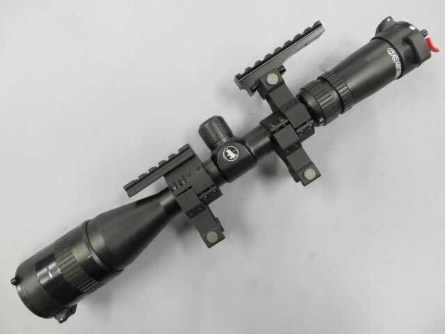 【Tasco】Vermin 2.5-10×42ミルドットレティクル・バトラーキャップ・マウント