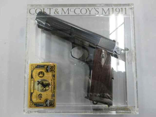 【リアルマッコイズ】コルト&McCOY'S M1911 モデルガン
