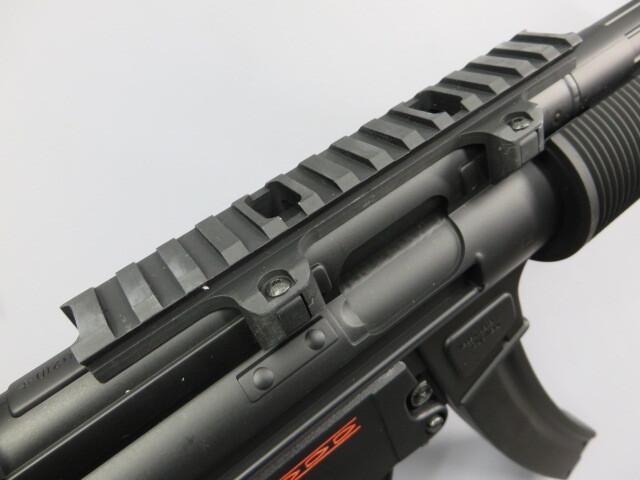 【東京マルイ】H&K MP5 SD5 / マウント