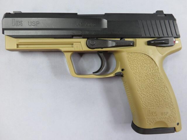 【KSC】H&K USP.45 フルサイズ TAN 限定製品