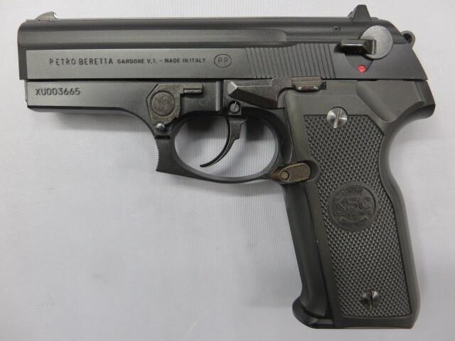 【KSC】M8000クーガーF ブラック SYSTEM7